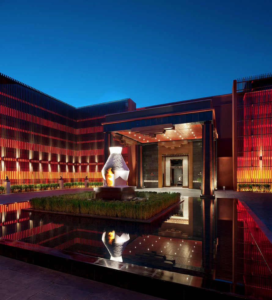 The lap of luxury in lhasa for St regis
