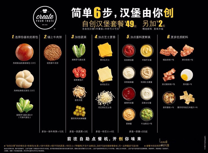 mcdonald s launches create your own burger kiosks in china