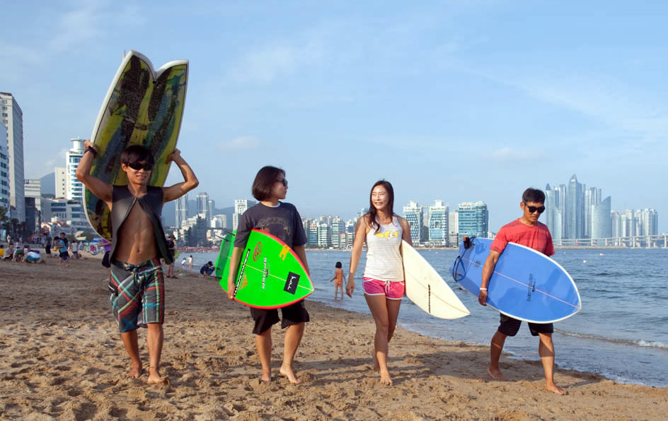 Riding The Korean Wave Surfing Culture In Korea
