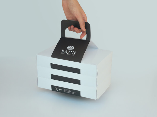 Clever Takeout Box For Bali Sushi Restaurant Branding In