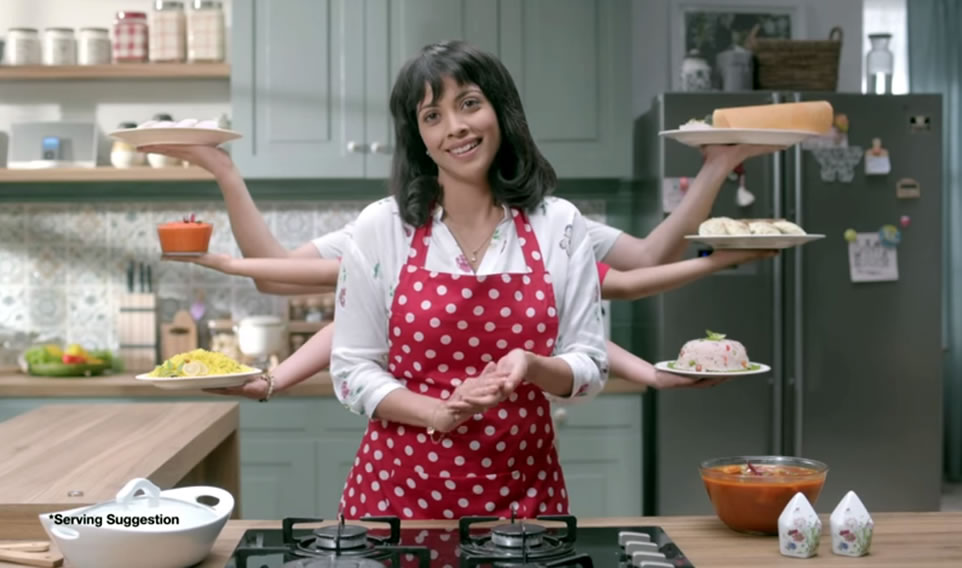 MTR Foods Continues with Six-Arm Theme in New Ad