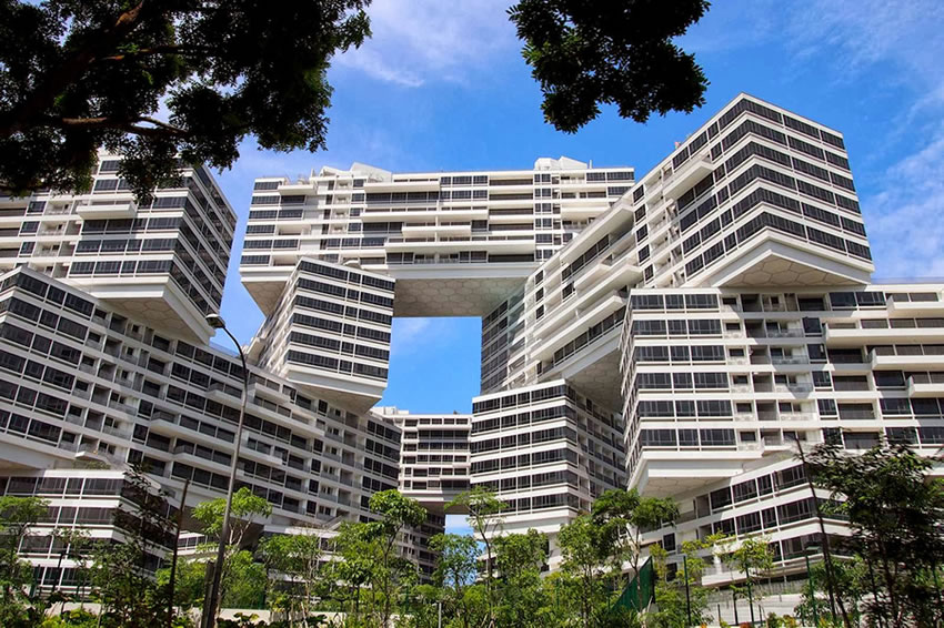 The Interlace Singapore Apartments Great   Branding In Asia