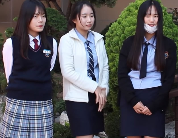 South Korean School Uniforms