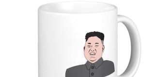 Kim Jong Un North Korea Coffee Mug