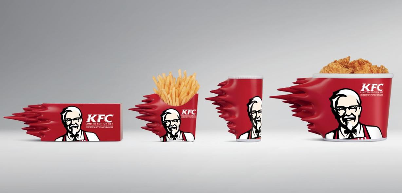 KFC Thailand's Very Very Cool 'Speed Packaging'