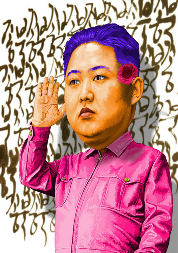 Kim Jong Eun Satire Posters Branding In Asia Magazine