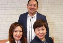 Singapore Press Holdings Elsie Chua, Ignatius Low and Tan Su-Lin.