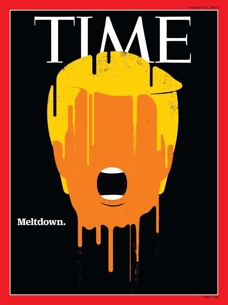 Check Out Donald Trump's Meltdown Time Magazine Cover