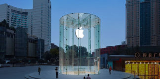 Apple Store in Chongqing, China