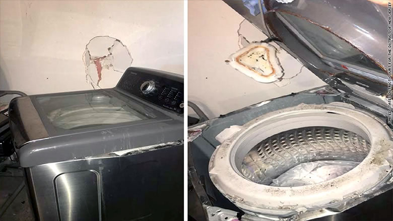Exploding Washing Machines - Samsung Acknowledges Problem
