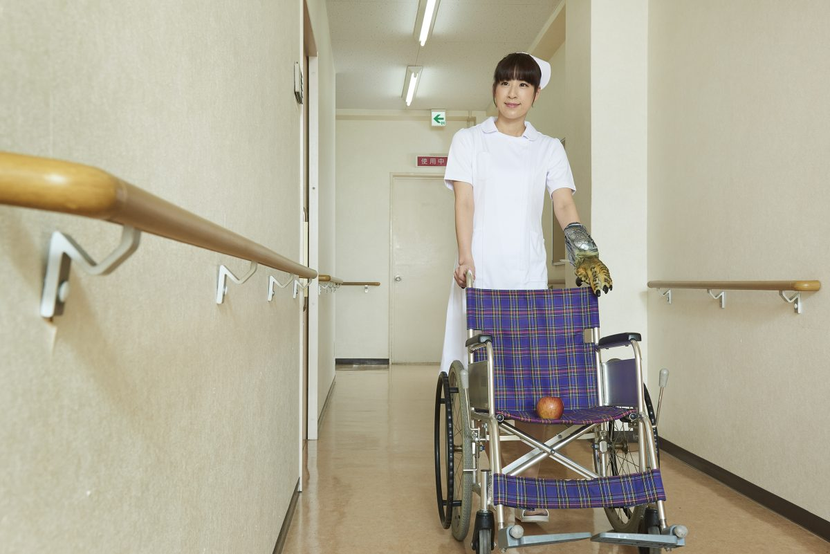 Bizarre Japanese Nurse Stock Photo Site is a Clever Piece of Content Marketing