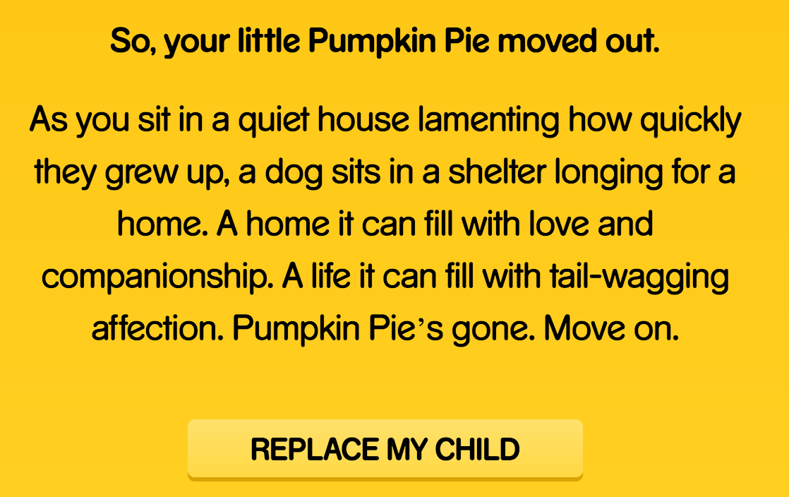 'child Replacement Program' Campaign Takes Clever Approach To Encouraging  Dog Adoption