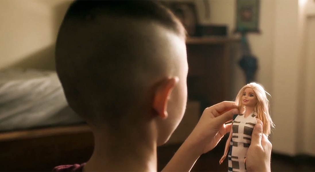 Rock Kwanlada Stars in 'Hair Talk' Campaign Addressing