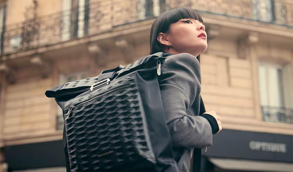 Japan Kozue Akimoto Samsonite Branding In Asia Branding