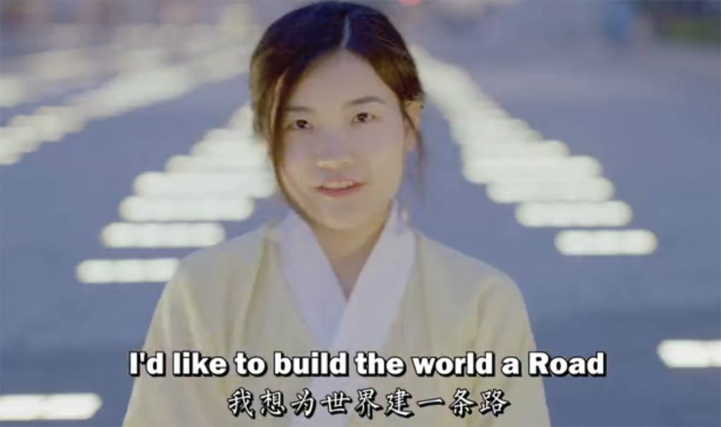 China Belt and Road Coke Commercial - Branding in Asia