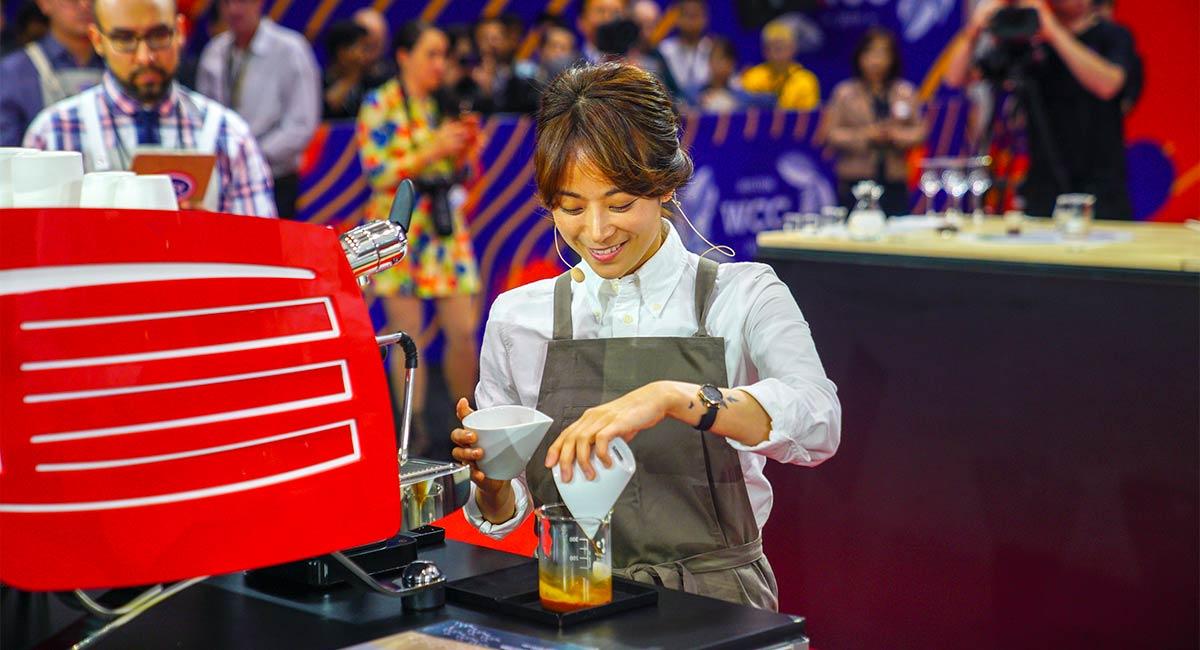 South Korea's Jooyeon Jeon of Momos Coffee Named World
