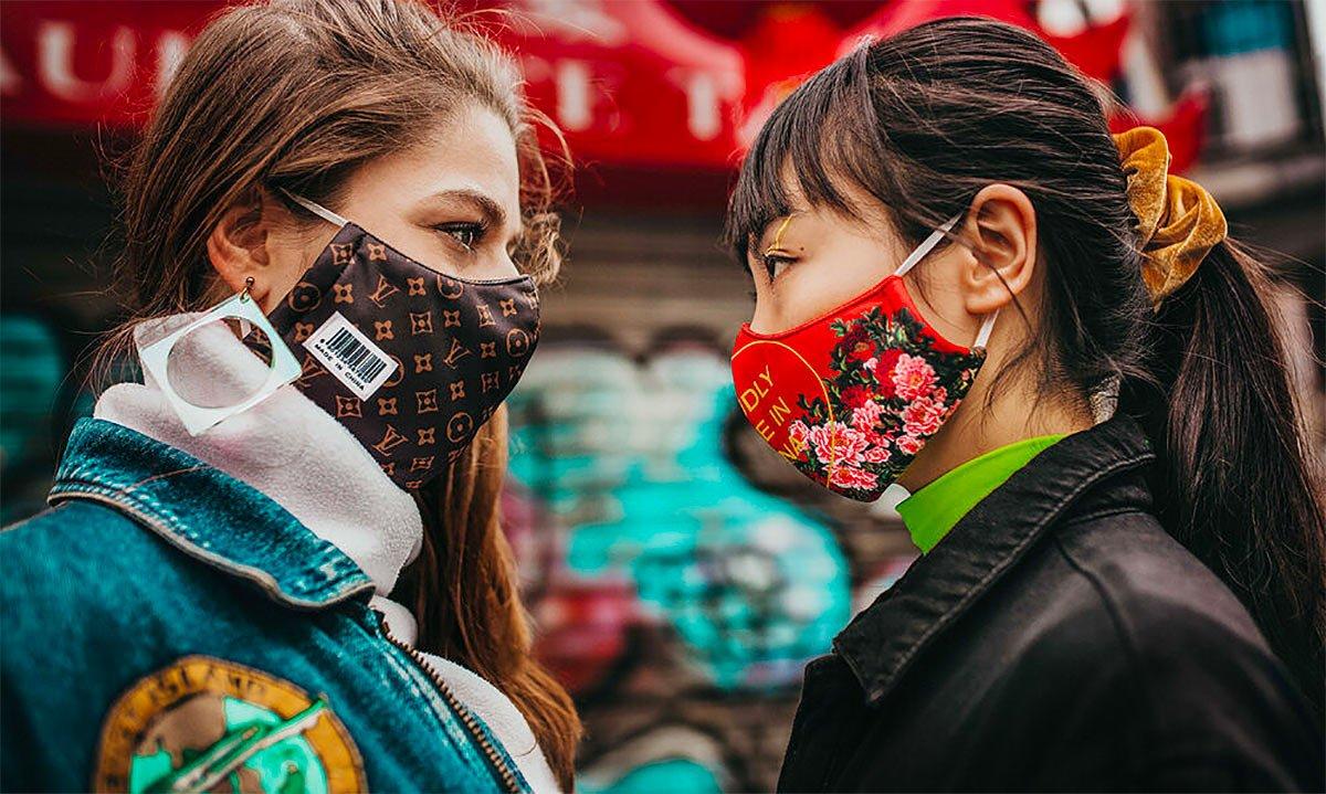 masque de virus